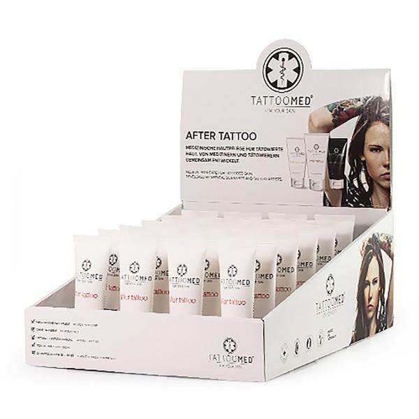 TattooMed® Tischaufsteller after tattoo 24 x 25 ml