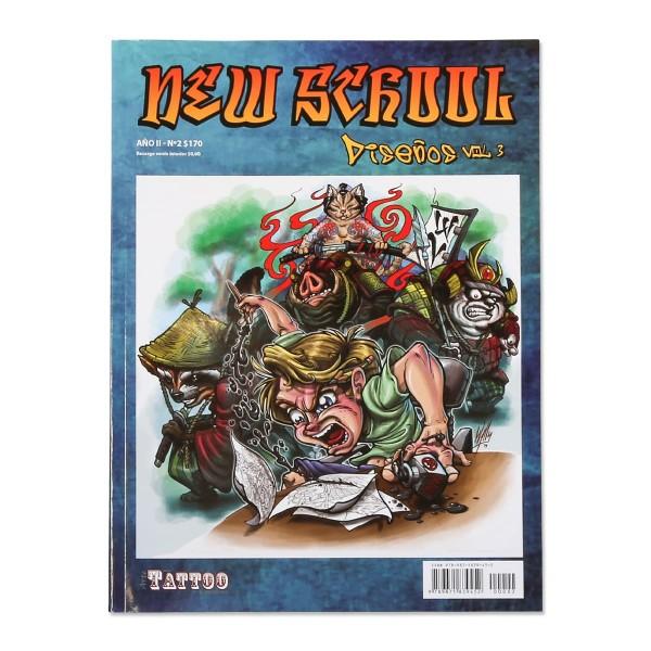 New School Vol. 3 - Sketches - Comic - Cartoon