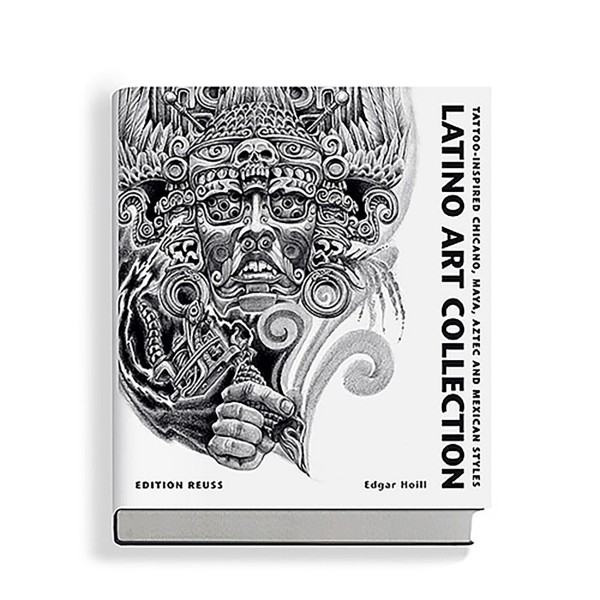 LATINO ART COLLECTION - Tattoo-Inspired Chicano, Maya, Aztec and Mexican Styles