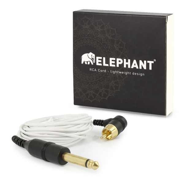 Elephant - Lightweight Cinch/RCA Kabel - gewinkelt