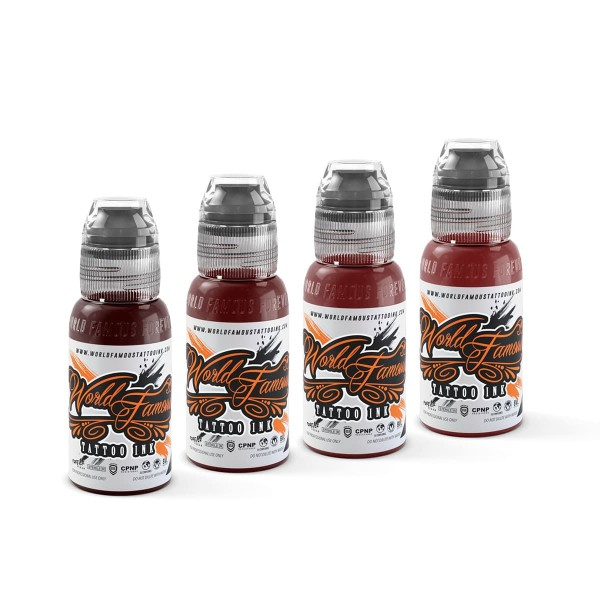 World Famous Ink - Joel's Blood Works Set - 4 x 29,6 ml