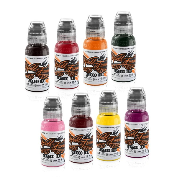 World Famous Ink Ryan Smith Flower Set 8 x 29,6 ml