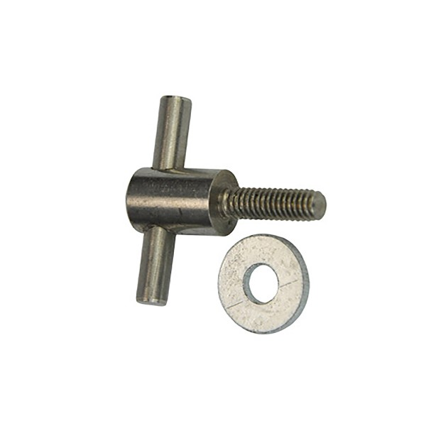 Wing screw for tattoomachines