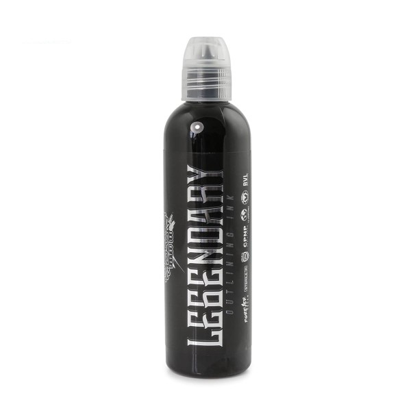 World Famous Tattoo Ink Legendary Outlining Black - 118,3 ml