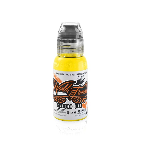 World Famous Tattoo Ink Canary Yellow - 29,6 ml