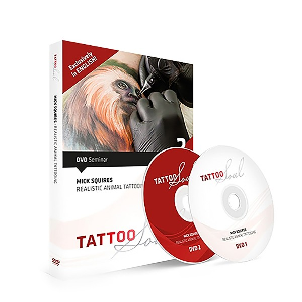 TattooSoul DVD: Mick Squires - Realistic Animal Tattooing