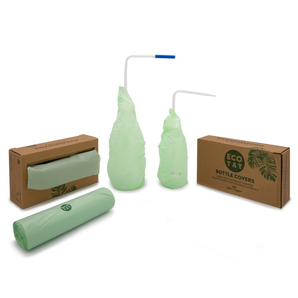 Ecotat covers for water bottles