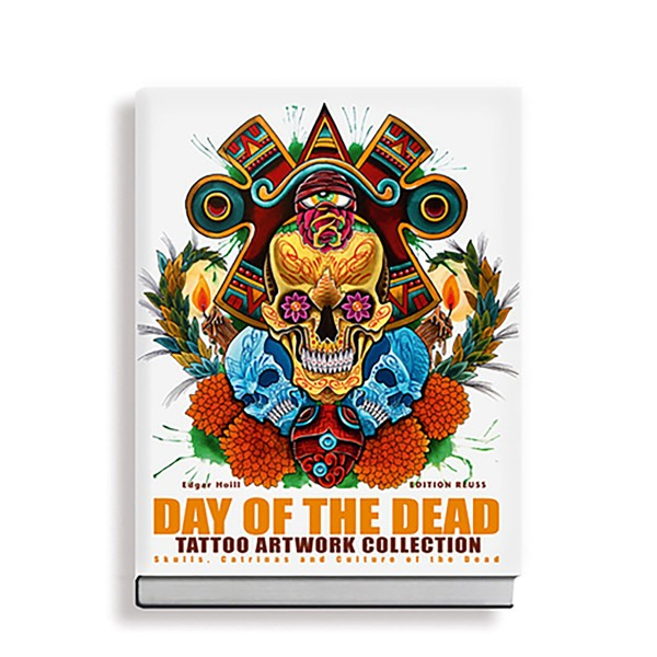 Day of the Dead Tattoo Artwork Collection - Skulls, Catrinas and Culture of the Dead