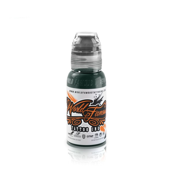 World Famous Tattoo Ink Midgard Green - 29,6 ml