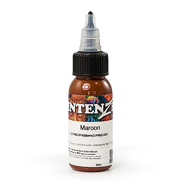 Intenze Tattoo Ink Maroon 29,6 ml - Boris from Hungary