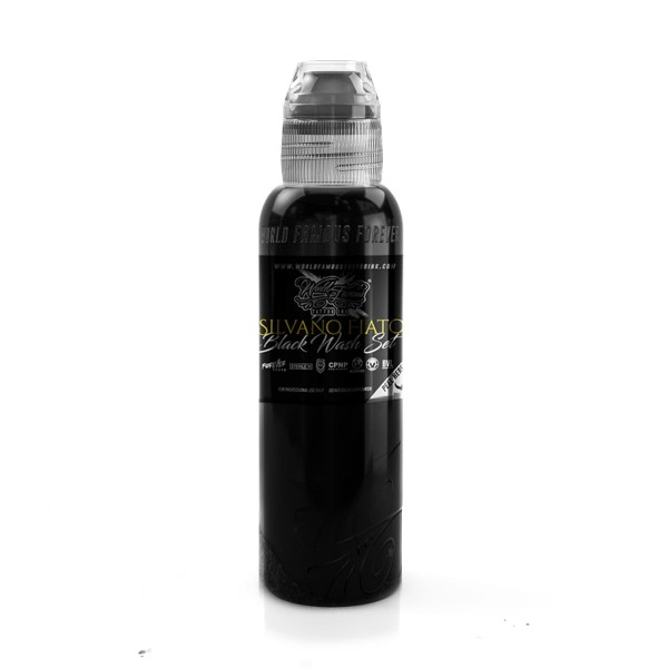 World Famous Tattoo Ink Silvano Fiato - Black 118,3 ml