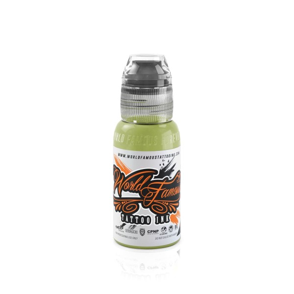 World Famous Tattoo Ink Vincent Zatter's - Musk Lime 29,6 ml