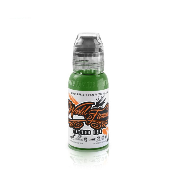 World Famous Tattoo Ink Everglades Green - 29,6 ml