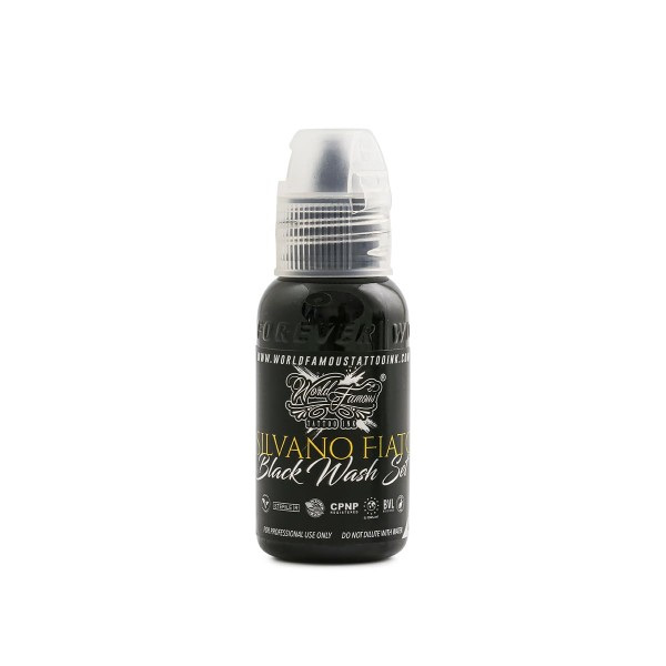 World Famous Ink - Silvano Fiato - Extreme Black 29,6 ml