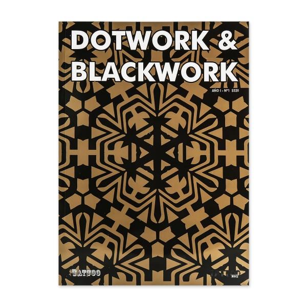 Dotwork & Blackwork Vol. 1 - Drawings & Paintings - Sketches - Patterns - Tattoos