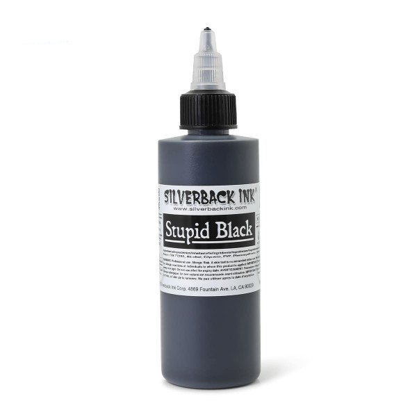 Silverback Ink - Stupid Black - 118,3 ml