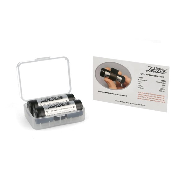 Inkjecta Flite X1 replacement batteries - 2 pieces