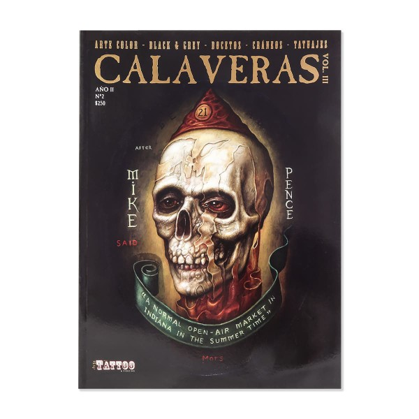 Calaveras - Tattoo Design Collection - Skulls Vol. 3