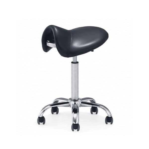 Tattoo Stool - Wave - Saddle-shaped seat