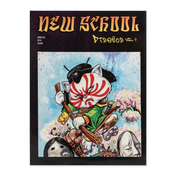 New School Vol. 4 - Paintings and Drawings - Sketches - Graffiti - Comic - Cartoon