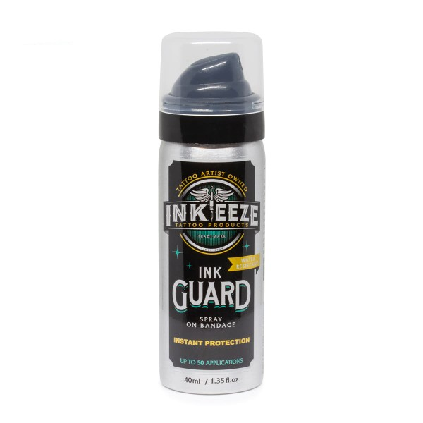 Ink Eeze - Ink Guard - Spray on Bandage, 1.35oz (40ml)