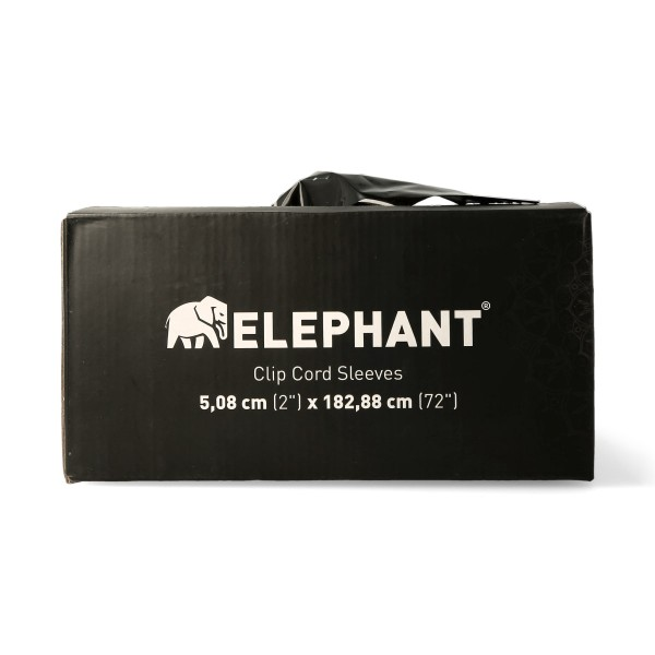 Elephant - Clip Cord Sleeves