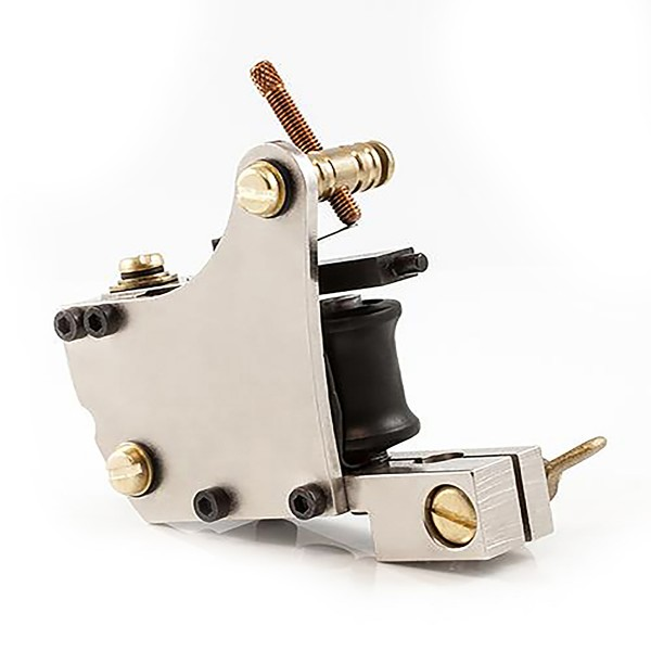 Dickie Golden Jensen Screwed S Silver Liner Tattoo Machine
