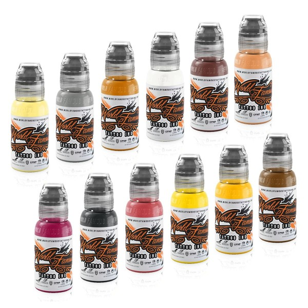 World Famous Ink Debora Cherrys Musas Set 12 x 29,6 ml