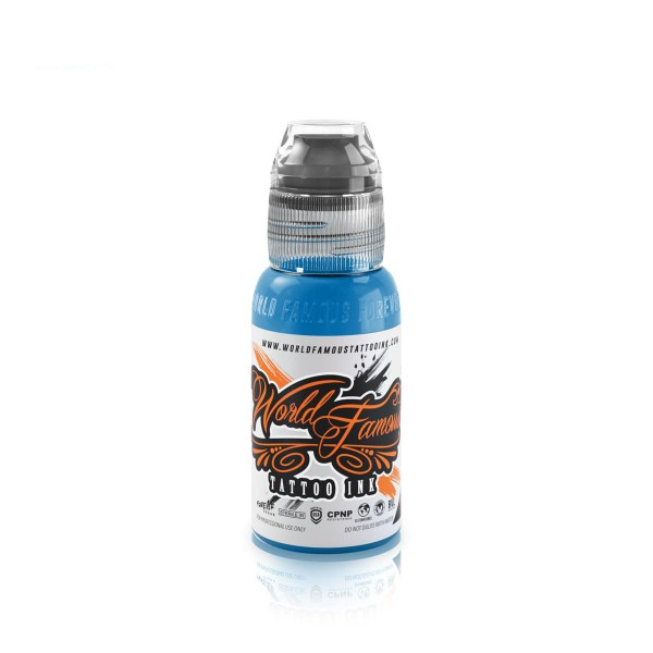 World Famous Tattoo Ink Bangkok Blue - 29,6 ml