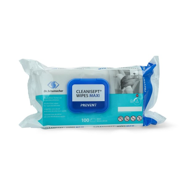 Dr. Schumacher - Cleanisept Wipes Maxi - 100 Wipes