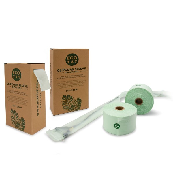 Ecotat clipcord sleeves rolls